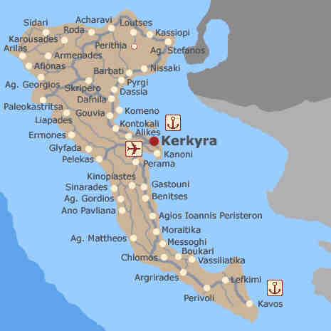 Corfu Kefalonia Ionian Islands Property Rentals Greece