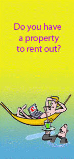 Invite to rent out your holiday home